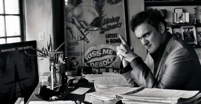 Quentin Tarantino writing