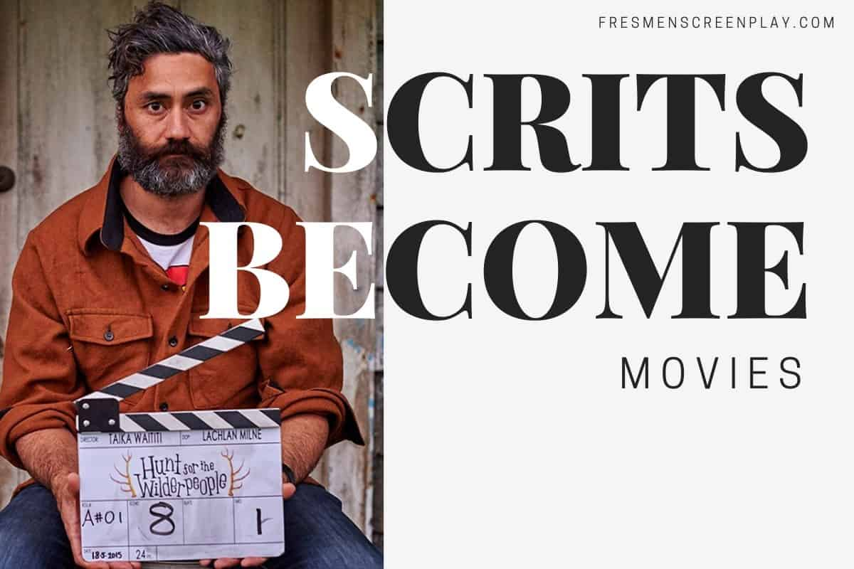 How Scripts Become Moives