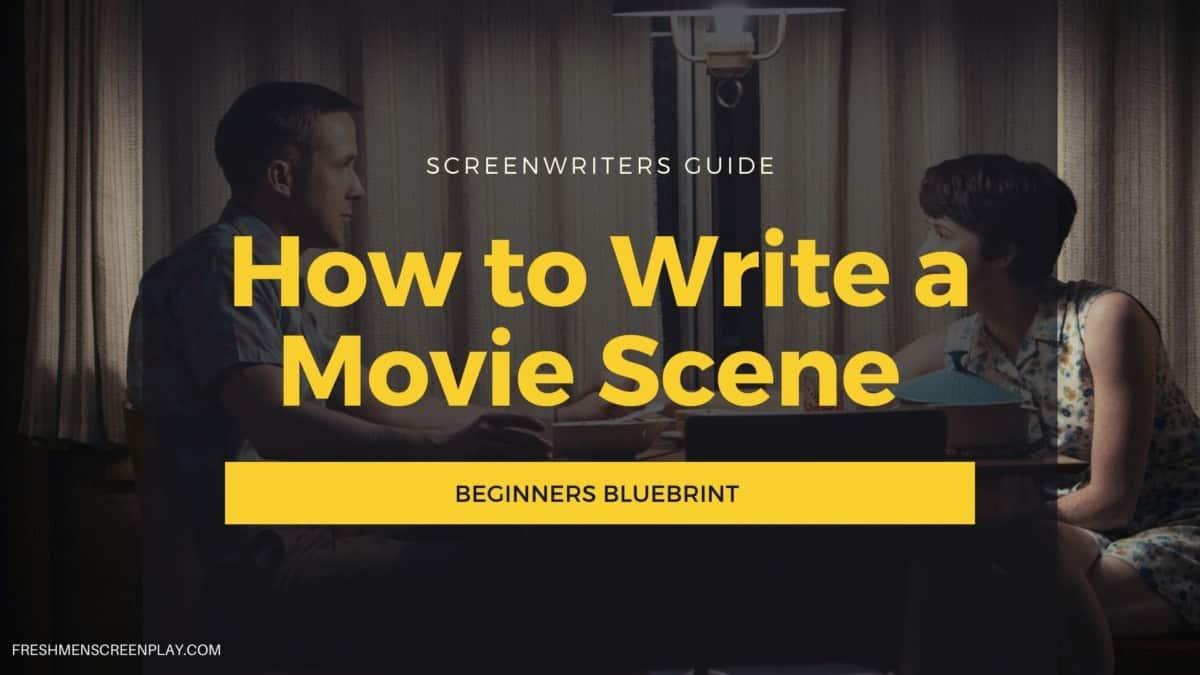 how to write scene in a screenplay