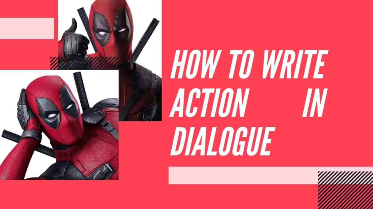 How to Write Action in the Middle of Dialogue in a Screenplay