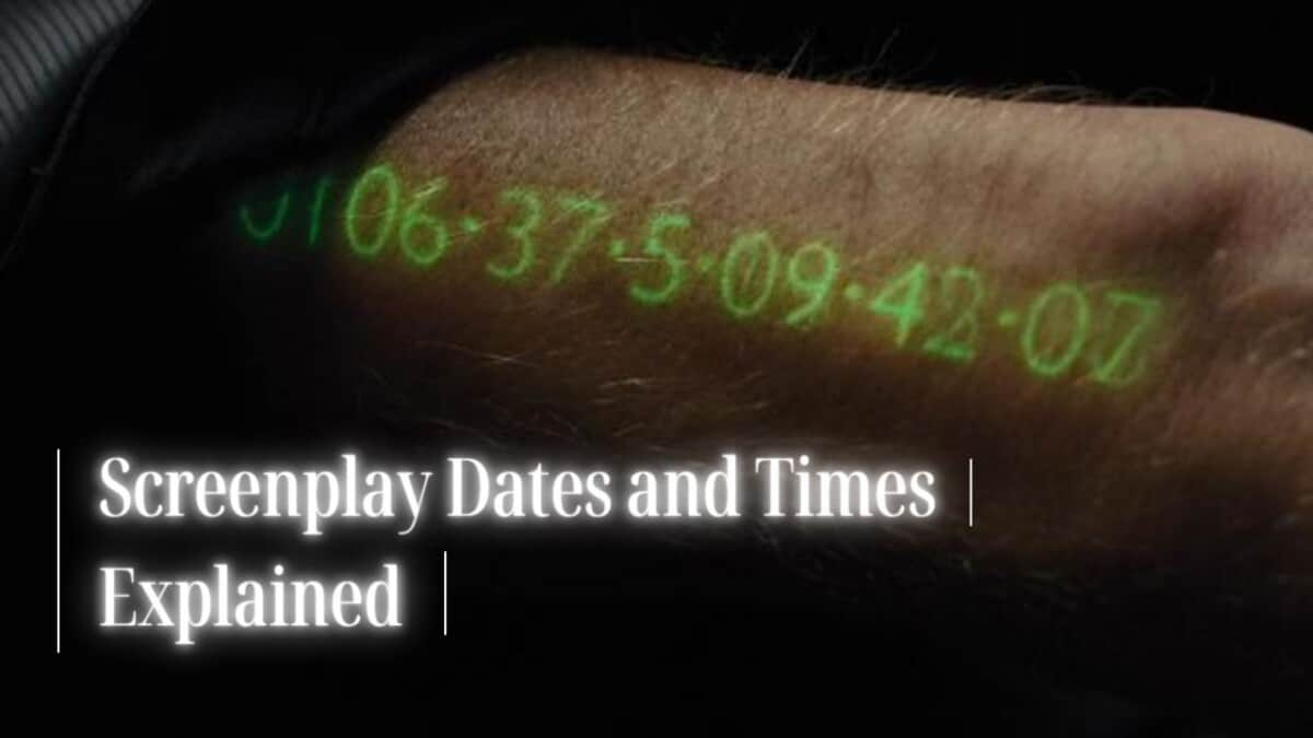 How to Write Dates and Times in a Screenplay